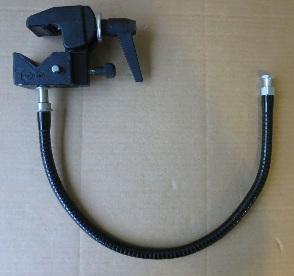 Manfrotto Super clamp without studs  #035 - With flexible arm